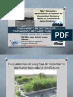 2d Fundamentos de Sistemas de Tratamiento Mediante Humedales Artificiales