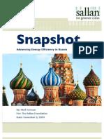 Advancing Energy Efficiency in Russia