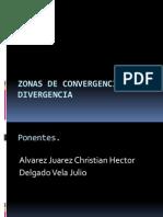 Zonas de Convergencia y Divergencia (Aqp)
