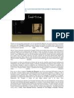 Análisis de Las Canciones de Vinagre y Rosas de Joaquín Sabina
