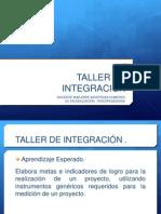 PPT TALLER DE INTEGRACIÓN 5