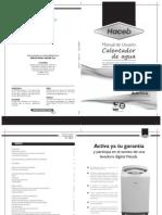 Manual Calentador Cpg 5