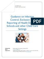 201409 School Infection Control and Reporting