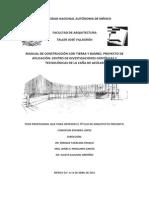 Manual de Construccion Con Tierra y Bambu