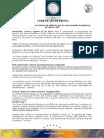 20-08-2010 El Gobernador Guillermo Padrés presidió la primera reunión de trabajo con diputados federales del PAN y su coordinadora Josefina Vázquez Mota, con el fin de ir conformando un presupuesto de egresos para el 2011. B081087