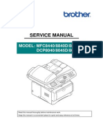 Brother 8840D Service Manual