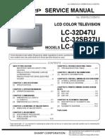 Sharp Lc-32d47 Sb27 c3237 Sm Lcd