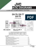 Jvc CA Dx t9, Dx t7, Dx t5