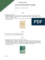 Bibliografía de Bioy