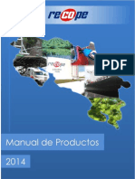 Manual de Productos RECOPE 2014 2