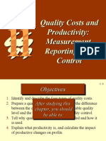 Quality cost & Productivity