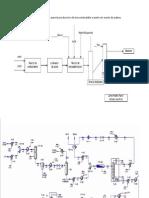 Diagrama de Bloques Para La Producción de Biocombustible a Partir de Aceite de Palma