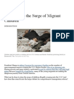 how to stop the surge of migrant children