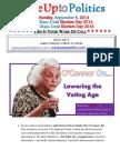 Wake Up to Politics - September 8, 2014