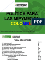 Presentación Mipymes Junio 9 2014