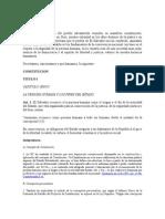 Constitucion de La Republica de El Salvador y Jurisprudencia