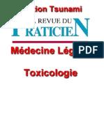 La Revue Du Praticien-Médecine Légale,Toxicologie