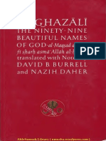 Al Ghazali - The Ninety-Nine Beautiful Names Of God