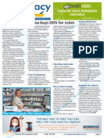 Pharmacy Daily for Tue 09 Sep 2014 - Sigma buys DDS for $26m, Gene patents debate, Cannabis research call, 35% pharm found errors, and much more