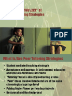 Peer Tutoring Strategies-Promoting Fluency and Literacy