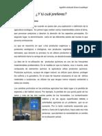 ALIMENTOS ORGANICOS REPORTAJE