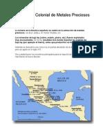 La Minería Colonial de Metales Precioso1.doc
