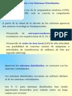 Unidad I. Sistemas Distribuidos