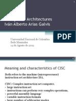 CISC y RISC Architectures.pptx