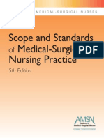 AMSN Scope Standards MS Nursing