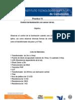12 y15 Control de Iluminacion - Memoria Electromecanica