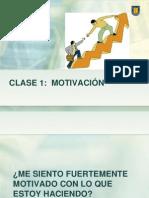 Clase 1 Sobre Motivación 2013