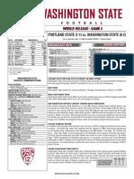 PSU Game Notes