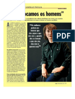 Artigo VEJA Online - Camille Paglia - Nos Sufocamos Os Homens - P-1