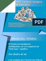 Clase Sobre Inteligencia 1 2011