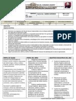 Plan Anual de Quimica Organica