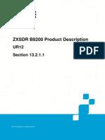 ZTE ZXSDR B8200 Product Description