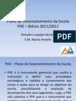 Apresentação PDE - 15-03-2011