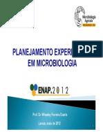 Dr. Whasley Ferreira Duarte (UFLA) - Planejamento Experimental Em Microbiologia_aula