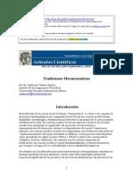 La Hermeneutica y El Analisis Del Discurso