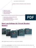 How Low-Voltage Air Circuit Breaker Works_ _ EEP