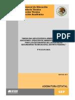 Programa Asignatura Estatal en.D.F.