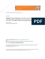 Digital Circuit Projects- An Overview of Digital Circuits Through