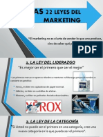 22 Leyes Del Marketing