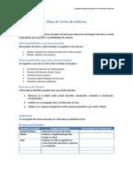 Atividade 3 - Plano de Testes de Software