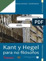 CSE_Gioscia_carneiro_rocha_Kant y Hegel Para No Filosofos