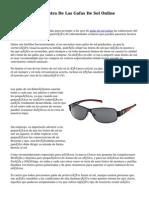 El Combate En Contra De Las Gafas De Sol Online
