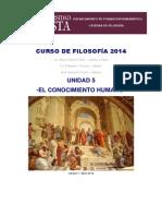 Curso de Filosofía 2014 u5 El Conocimiento Humano