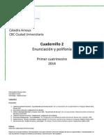 Cuadernillo 2 Primer Cuatrimestre 2014