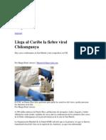 2013 Casos de Fiebre Chikungunya Al Caribe