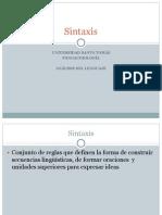 Sintaxis- Oración, Sujeto Predicad